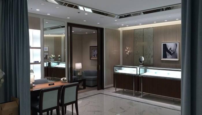 ティファニー札幌三越店改装工事