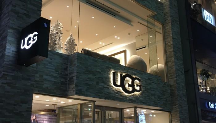 UGG札幌店新装工事
